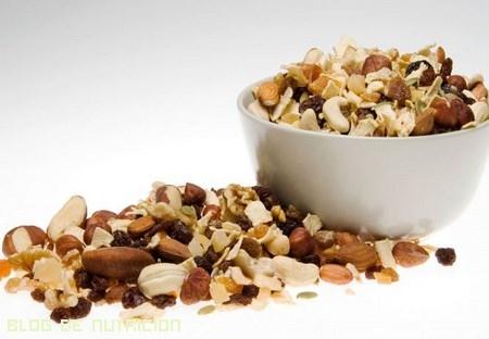 frutos secos para dietas