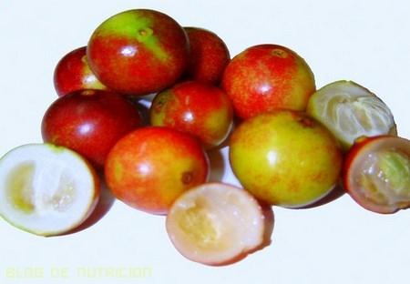 Frutas de alto contenido en vitamina C