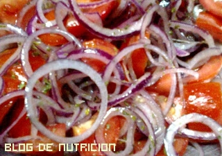 ensaladas de cebolla