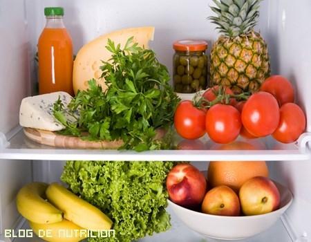 alimentos refrigerados