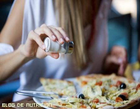 Sales dietéticas para la tensión alta