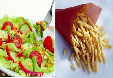 contar las calorías
