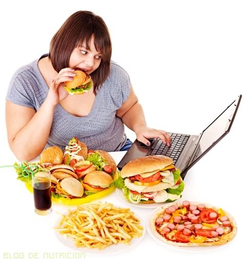 Comidas poco saludables