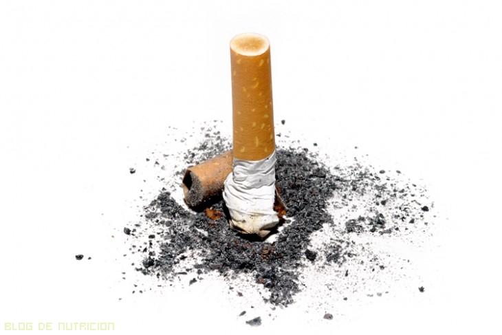 efectos del tabaco en la piel
