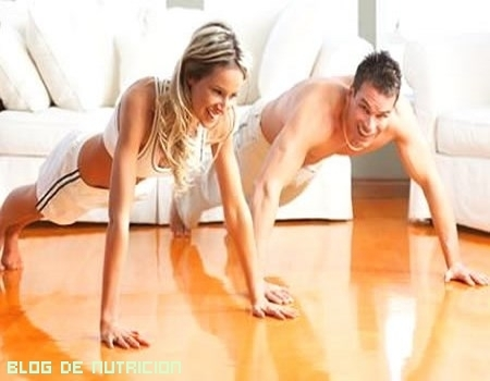 Dos sencillos ejercicios aeróbicos