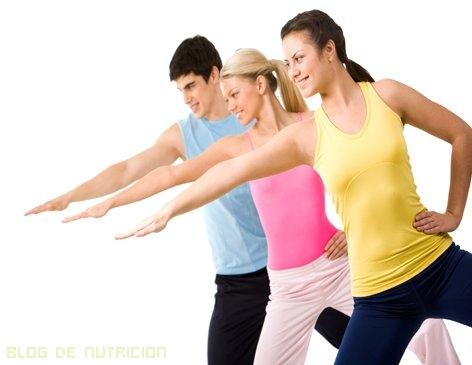 Series de ejercicios para calentar músculos