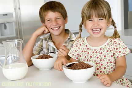 mejores desayuno para niños
