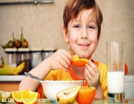 Alimentos para niños