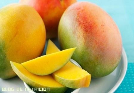 dietas con mango