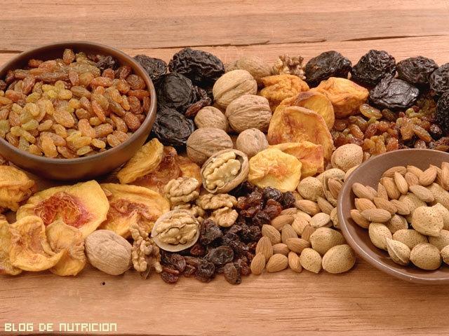 Frutos secos para la dieta