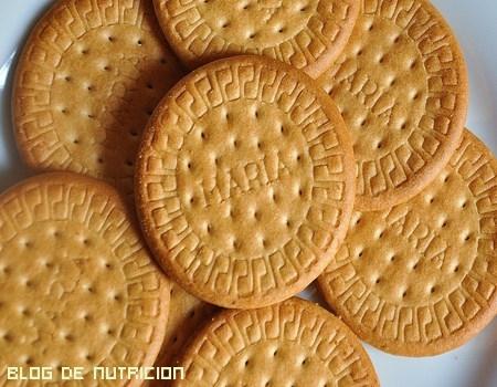 galletas bajas en azúcares