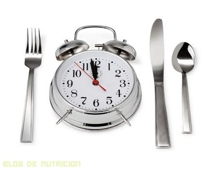 La hora de la comida influye en nuestro peso