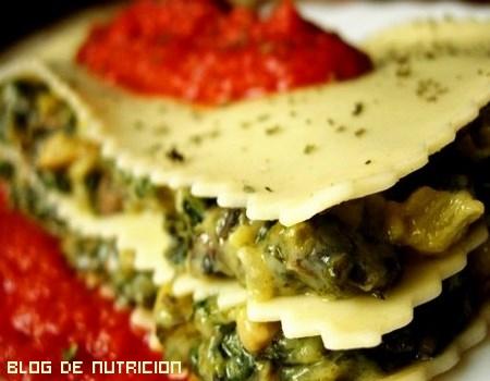 Prepara una lasaña vegetal