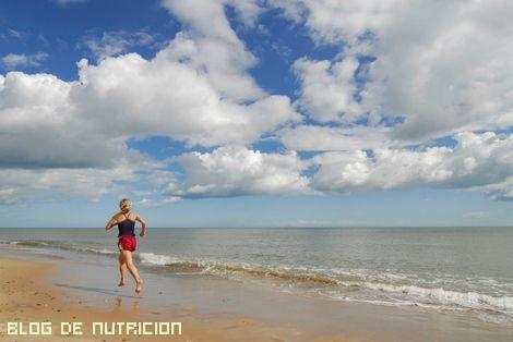 ejercicios para practicar en la playa