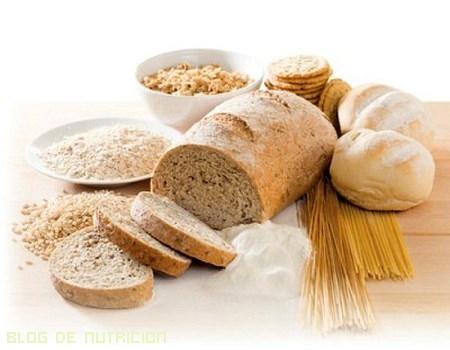 pan en dietas