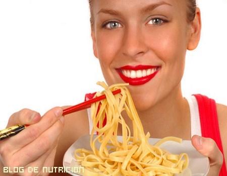Â¿Se puede comer pasta cuando estamos a dieta?