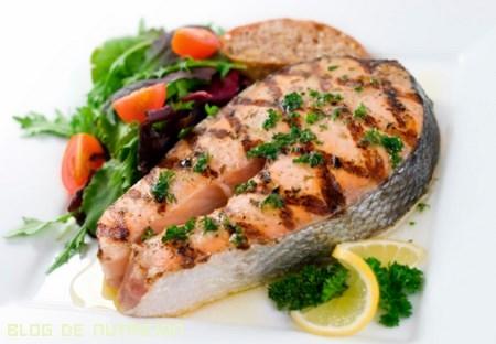 ensaladas con pescado