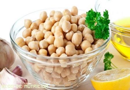 legumbres en ensaladas