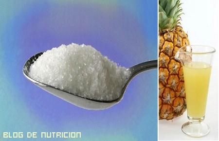 postres con azúcar