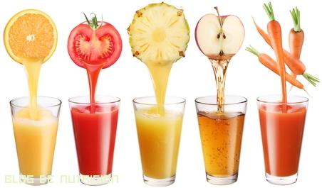 zumos con más vitaminas