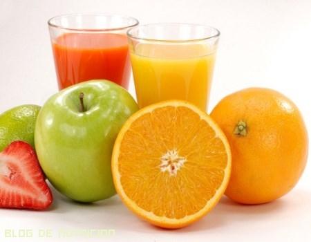 vitaminas en la dieta