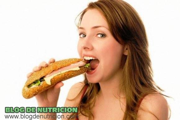 Subir de peso pero de manera saludable