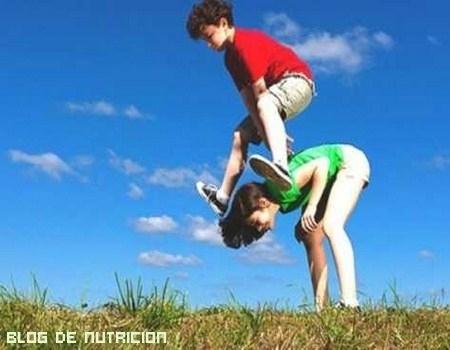 Ejercicio para el crecimiento de los niños
