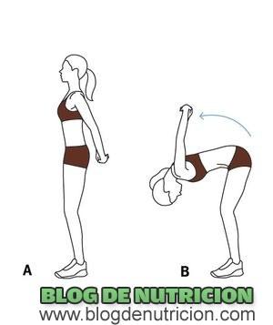 Estiramientos de espalda