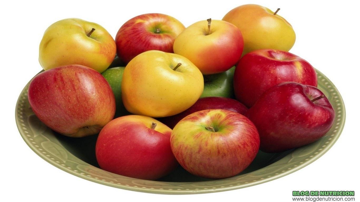 manzanas en tu dieta
