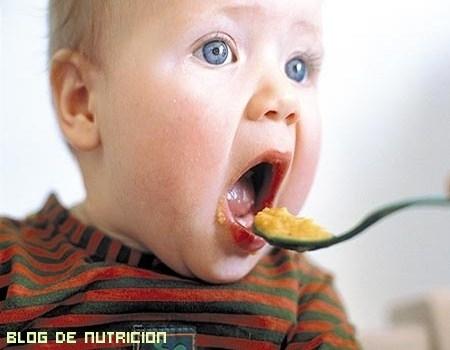 Alimentación del bebé después de los 6 meses