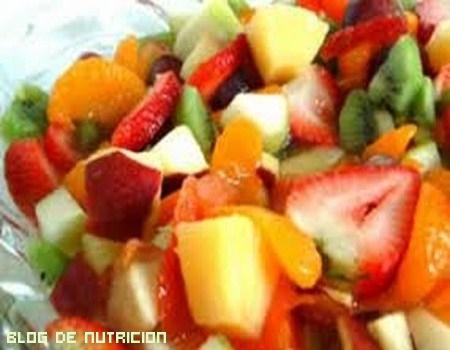 Platos de fruta