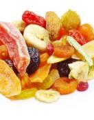 Las frutas deshidratadas