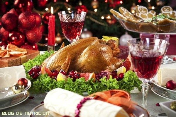 menú para mantener la línea en navidad
