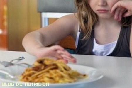 Alimentación de niños