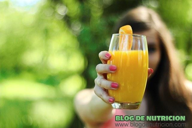 zumos naturales para bajar de peso